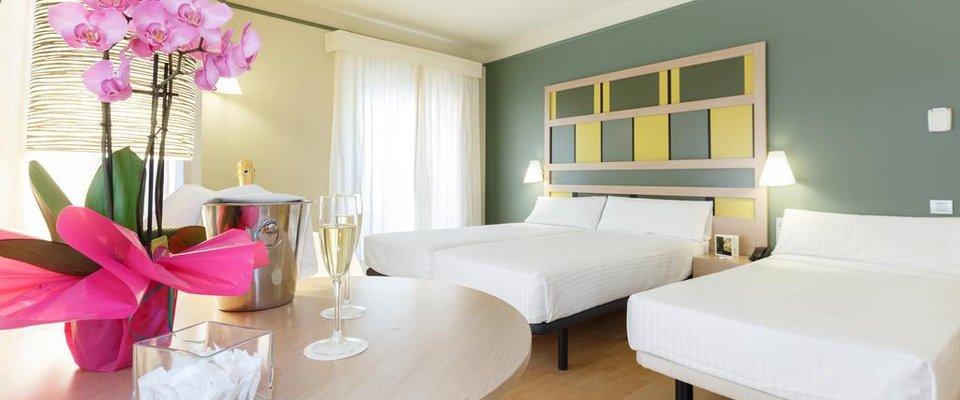 Habitació triple Hotel Ciutat Barcelona