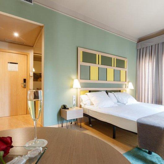 Habitació individual Hotel Ciutat Barcelona